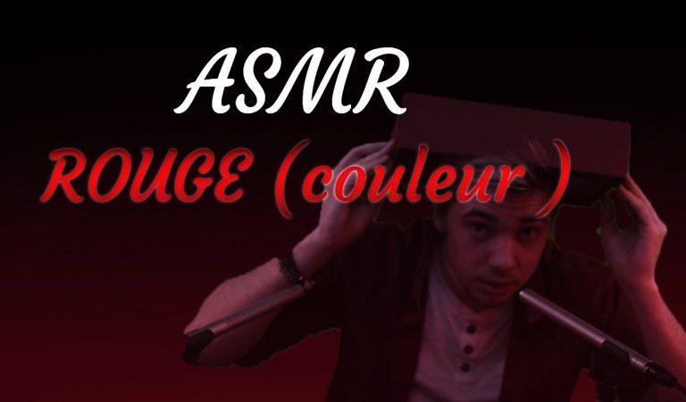 Asmr français : Spécial Couleur Rouge 🎈🍎