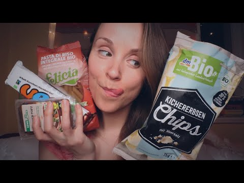 Was Ich Esse / Einkaufe (als Veganerin) | ASMR Food Haul (Deutsch/ German)