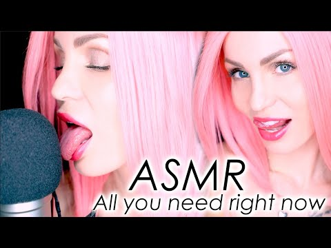 ASMR Pure Mouth Sounds and Tongue clicking – All you need right now