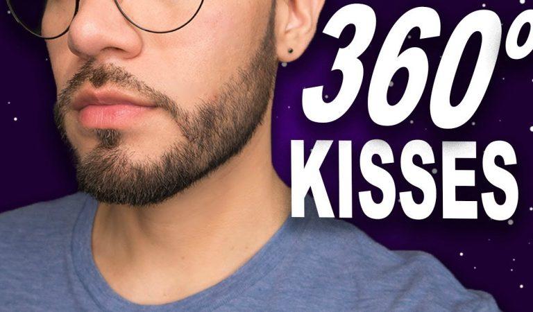 360 Cozy ASMR Kisses 🥰Male Whisper