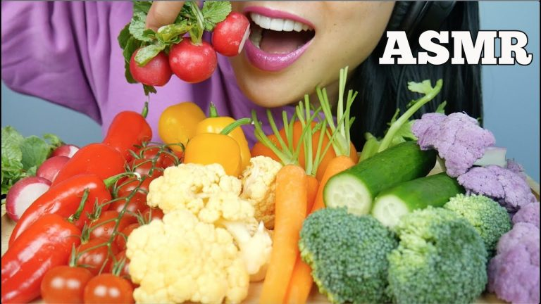 Asmr Raw Fresh Veggies Extreme Crunch Eating Sounds No Talking Sas Asmr Asmrhd See more ideas about asmr, food, eat. asmrhd