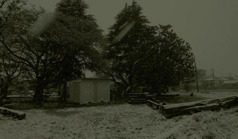 ASMR バイノーラルサウンド 雪道の散歩音