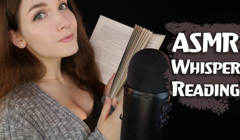 АСМР Чтение шепотом 📚 ASMR Whisper Reading