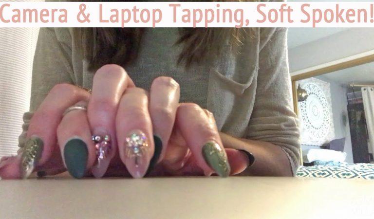ASMR * Camera & Laptop Tapping * Fast Tapping & Scratching * Soft Spoken * ASMRVilla