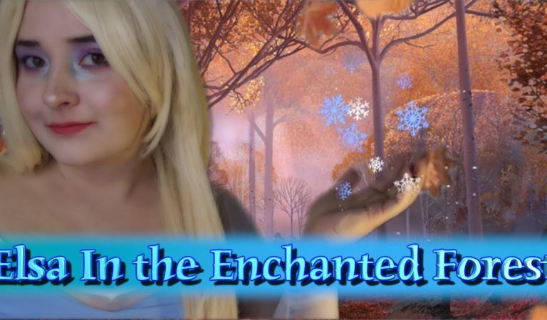 Elsa In the Enchanted Forest [ASMR] Whisper Singing & Humming