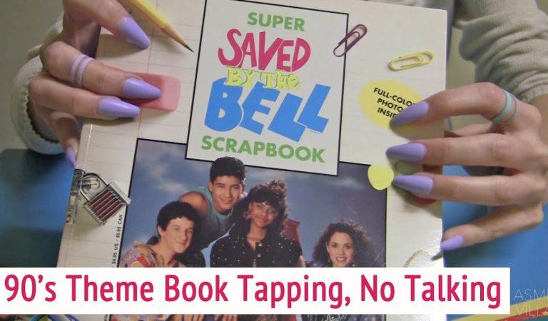 ASMR * 90's Book Tapping * Tapping & Scratching * Fast Tapping * No Talking * ASMRVilla