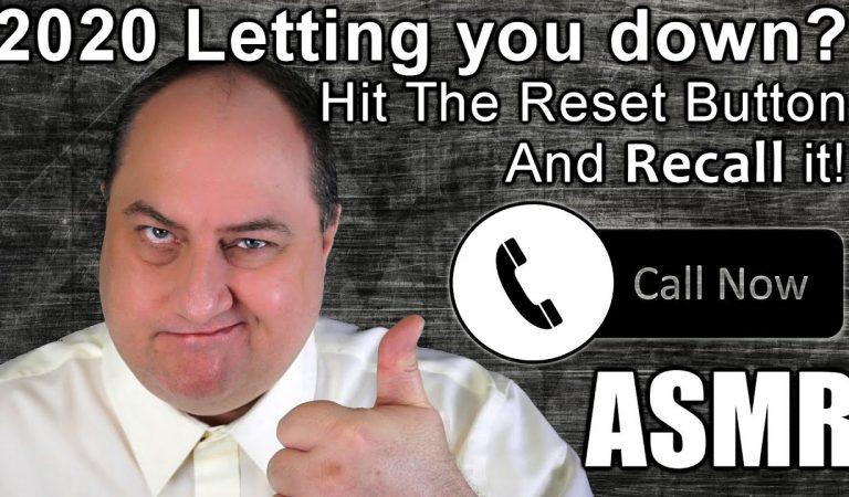Official 2020 Recall- Hit The Reset!  ASMR