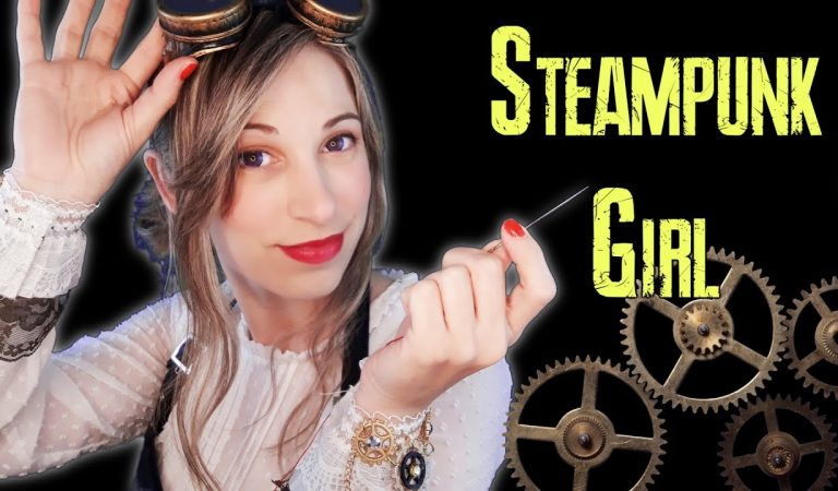 [ Steampunk Girl ] cose tus Tingles | INTENSO | Poquitín | SusurrosdelSurr ASMR