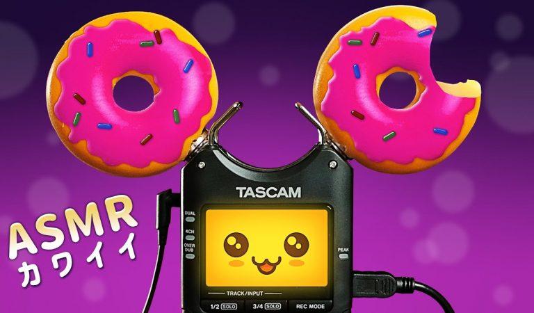 KAWAII ASMR   Toshi's Inner Voice   50+ Tascam Triggers for Tingles, Sleep & Relaxation