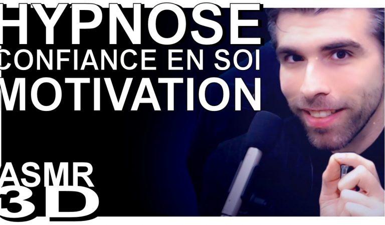 HYPNOSE PUISSANTE CONFIANCE EN SOI / MOTIVATION – ASMR français voix douce.