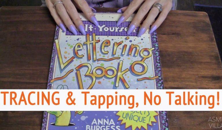ASMR * TRACING!! * Tapping & Scratching * Fast Tapping * No Talking * ASMRVilla