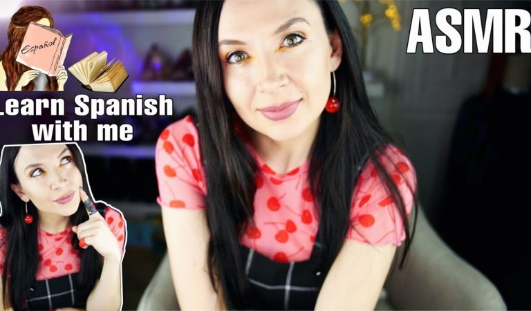 Learn Spanish with me *ASMR