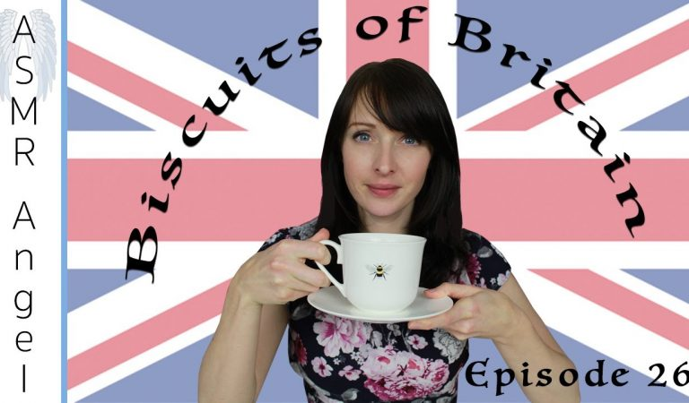 [ASMR] Biscuits of Britain and Beyond  ☕️🍪 Episode 26