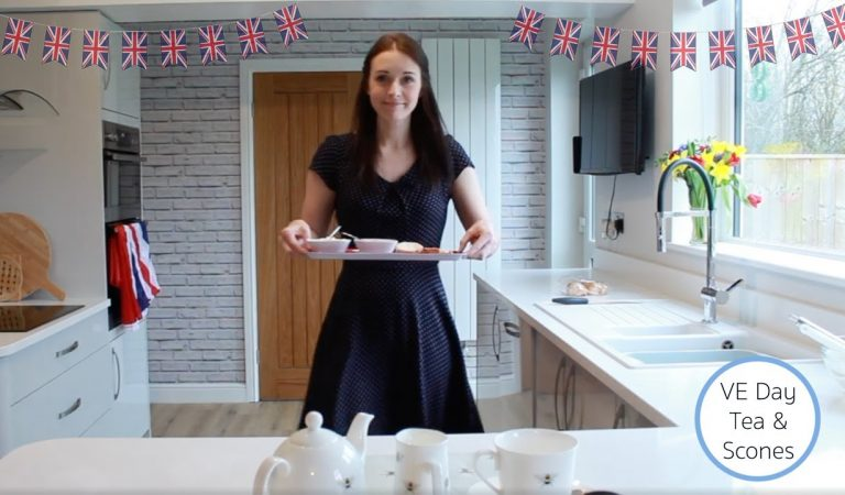 VE Day Special – ASMR Little British Cafe (Relaxing) Role Play
