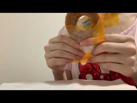 [音フェチ]焼き菓子とキャベツを食べる(小声)[asmr]