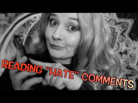 """Reading """"Hate"""" Comments 😤  Ear to Ear Breathing Sounds"""