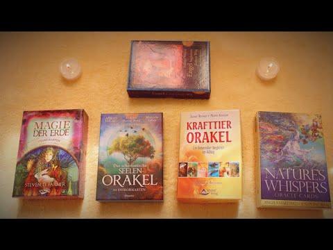 ASMR ORAKEL READING – JULI 2020 🔮 Tapping, Shuffling, Reading, Paper Sounds 🔮 Deutsch/ German