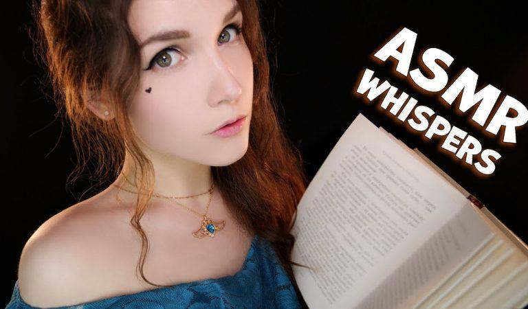 АСМР Близкий шепот  [Чтение на ночь] 📚 ASMR Close Whispers [Reading at Night]😴