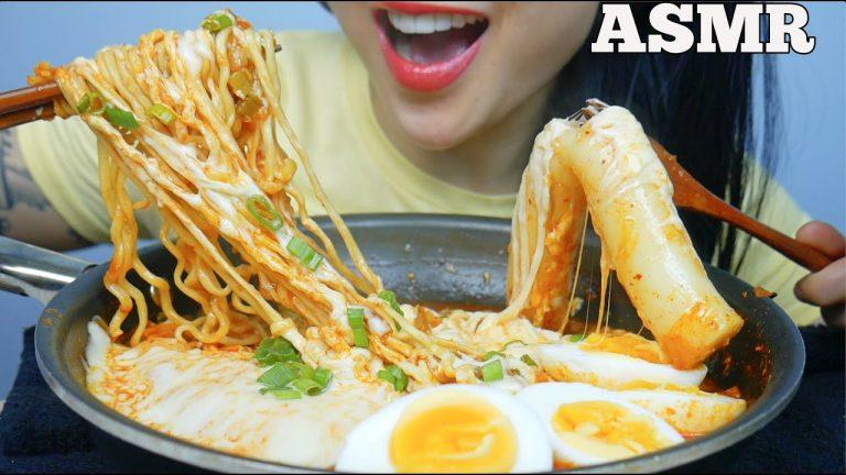 Asmr Cheesy Giant Rice Cake Samyang Kimchi Noodles Eating Sounds No Talking Sas Asmr Asmrhd Watch the best short videos of sas asmr(@ssas_asmrr). asmr cheesy giant rice cake samyang