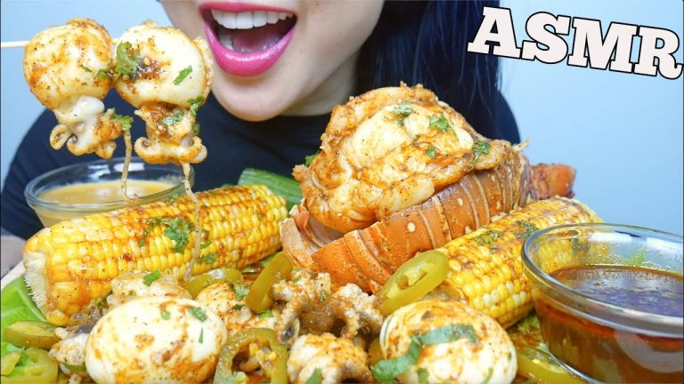 Asmr Seafood Boil Giant Lobster Tail Cuttlefish Octopus Eating Sounds No Talking Sas Asmr Asmrhd Check out this biography to know her birthday, family life, achievements and. asmr seafood boil giant lobster tail
