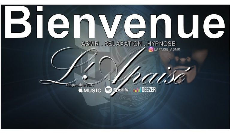 L'apaisé ASMR en #LIVE Ensemble de 21h30 à 22h30 (rediffusion de 22h à 9h du matin)
