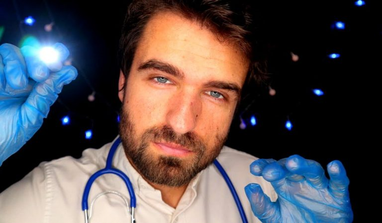 [ASMR] Medical Examination | Cranial Nerve Tests | Detailed Doctor Role Play