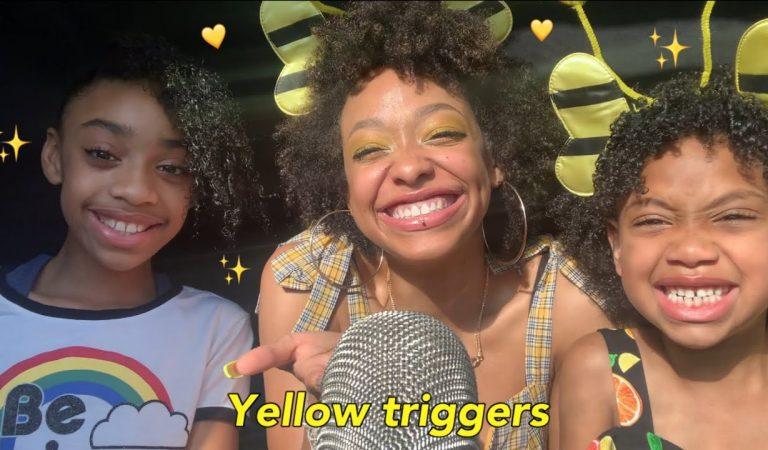 ASMR | YELLOW TRIGGERS 💛🌜✨ft MY SISSYS