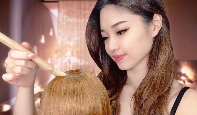 [ASMR] Sleep Inducing Hair Treatment ~ Korean Hair Mask