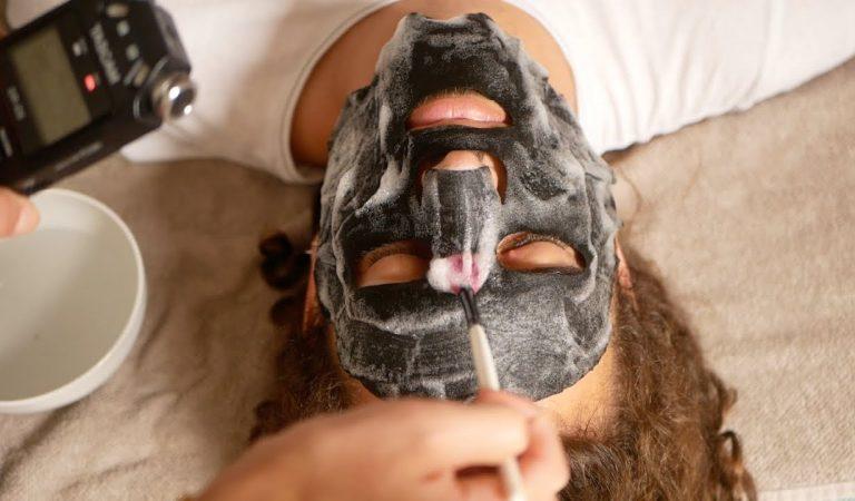 ASMR FRANÇAIS – Soins et massages très doux sur le visage de Lucas (détend-tooooi)
