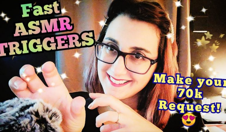 ASMR Ear to Ear FAST Triggers & Intense Whisper Ramble  (70k Requests OPEN Comment in this Video)