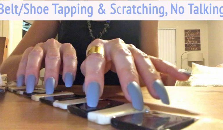 ASMR * Shoe & Belt Tapping & Scratching * No Talking * Jessica's Custom Video * ASMRVilla