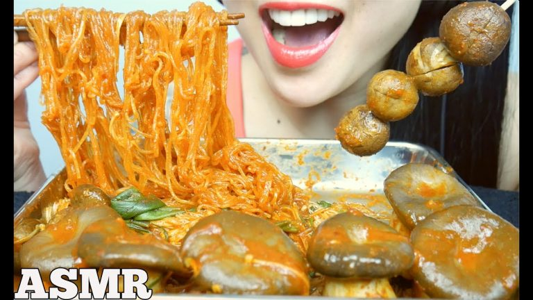 Asmr Oyster Mushrooms Spicy Enoki Mushrooms Clear Noodles Eating Sounds No Talking Sas Asmr Asmrhd 3,468 likes · 9 talking about this. asmrhd