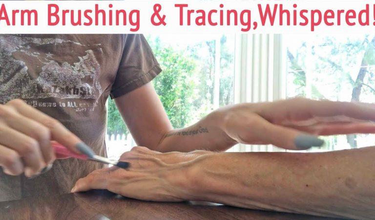 ASMR * Arm Tickling, Brushing & Tracing * Tiffany's Custom Video * Whispering * ASMRVilla
