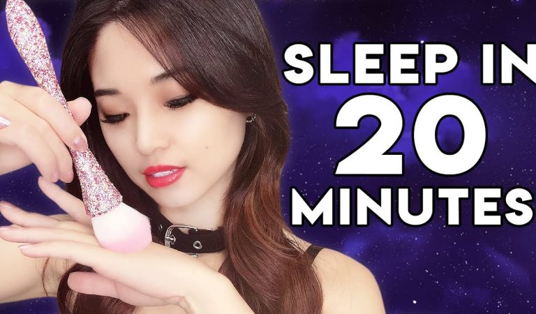 [ASMR] Sleep in 20 Minutes ~ Brushing Relaxation