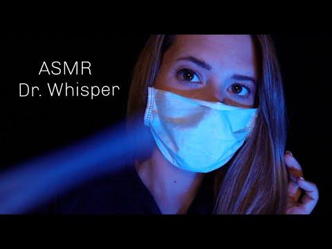 ASMR Dr. Whisper testet dich auf SCHLAFAPNOE (Kurzes Checkup) Soft Spoken RP in German/Deutsch