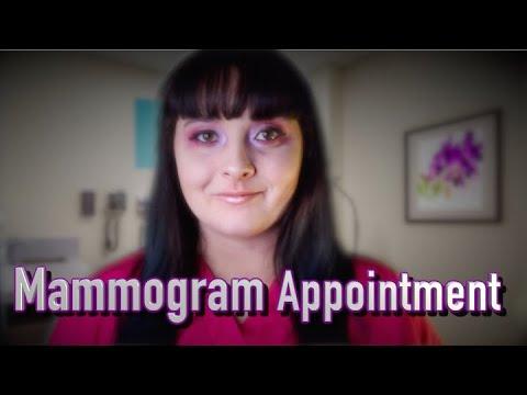Mammogram Appointment [ASMR RP] Soft Spoken