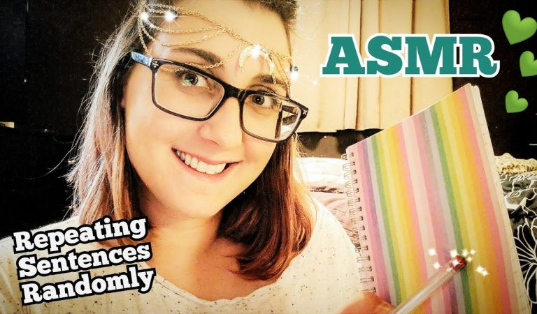 ASMR Asking You Questions Over & Over (Nonsensical, Soft Spoken, Repeating Sentences)