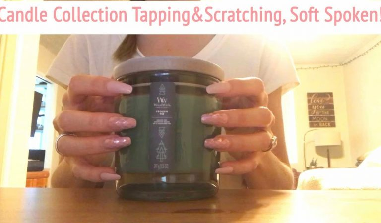 ASMR * Candle Collection! * Fast Tapping & Scratching * Soft Spoken * ASMRVilla
