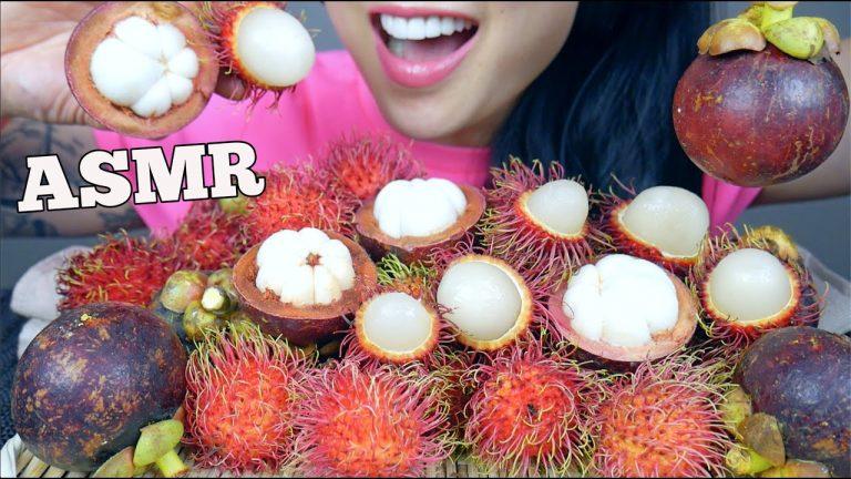 Asmr Tropical Fruit Mangosteen Rambutan Eating Sound Sas Asmr Asmrhd Asmr mochi *fresh fruits *best mochi i've ever had (sticky soft eating sounds) no talking. asmrhd