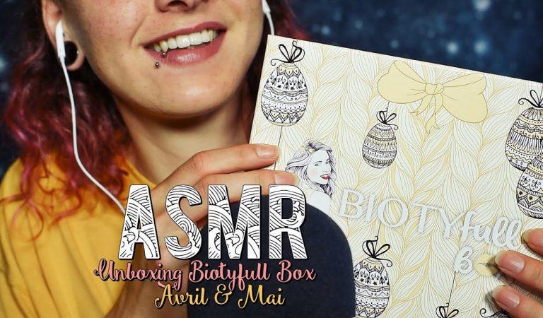 ASMR Français  ~ Unboxing BIOTYfull Box d'Avril & Mai