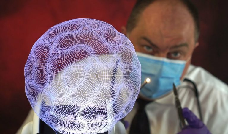 [ASMR] Virtual Brain Surgery Simulation