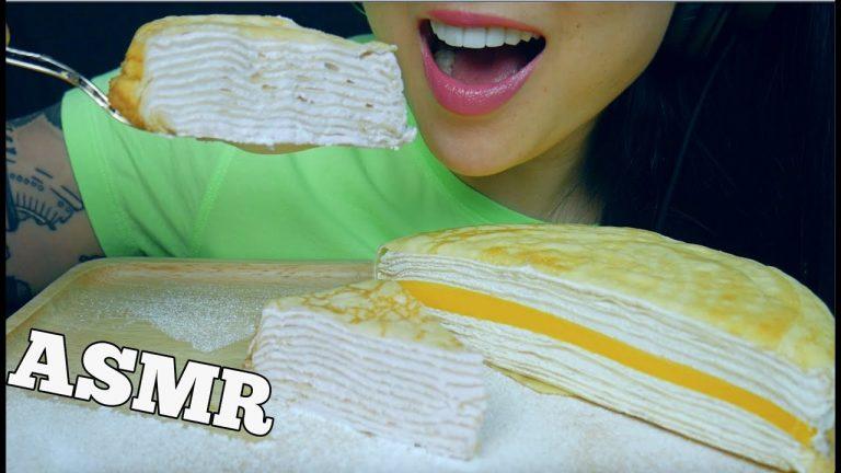 Asmr Crepe Cake Platter Soft Squishy Eating Sounds No Talking Sas Asmr Asmrhd Her sasittube instagram account earned 1.7 million followers. asmrhd