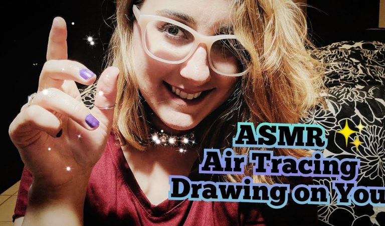 ASMR Drawing on Your Face ~ Cute Tingles with Finger Plays (Authentic ASMR)