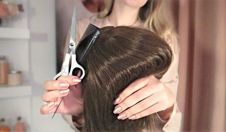 Gentle Hair Styling • Realistic ASMR • No Talking • Brushing, Shampoo, Blowdry, Scissors, Flat Iron