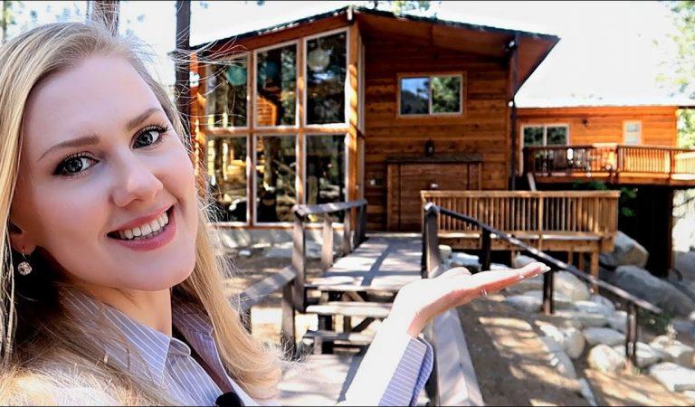 ASMR • Lake Tahoe Cabin Tour 🏡