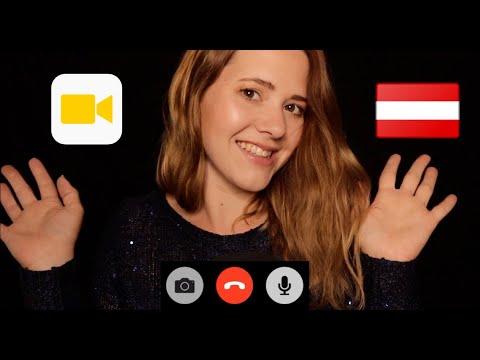 ASMR | Videoanruf von deiner Freundin aus Österreich 🇦🇹 Whisper RP in German/Deutsch
