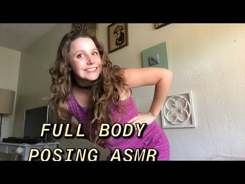 Experimental ASMR Full Body Posing + hand sounds