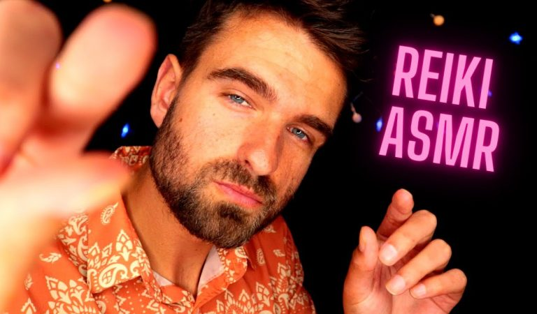 [ASMR] Reiki For Sleep & Anxiety Relief 💤 (Plucking, Hand Movements, Stress Pulling & More) 💤
