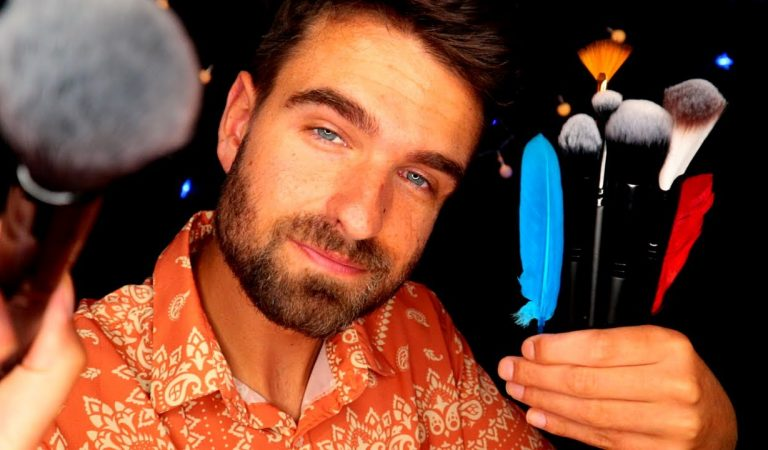 [ASMR] The Face Brushing Video You Have Been Looking For (Personal Attention & Up-Close Whispering)