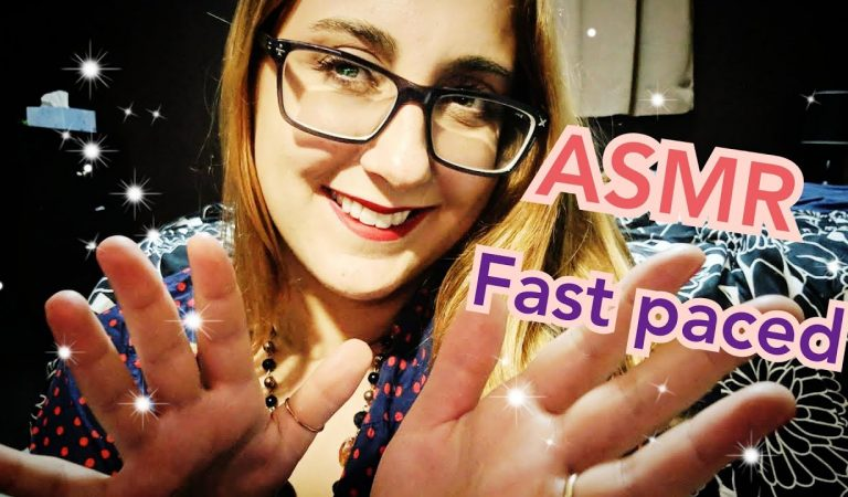 ASMR Fast- Paced Mouth Sounds, Tapping, Repeating, Hand Movements (May Custom)